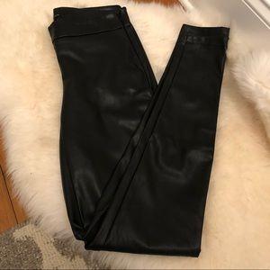 NWOT Ann Taylor Faux leather leggings